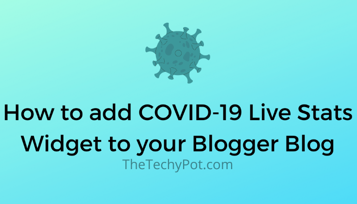 How to Add Elfsight Covid-19 Live Stats Widget to Blog or Website